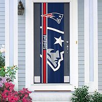 New England Patriots Two-Sided Door Wrap