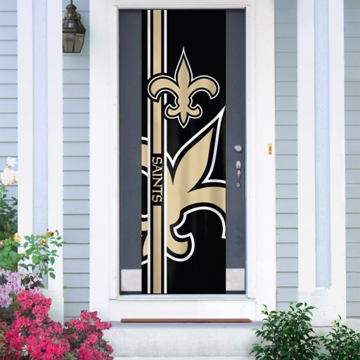 New Orleans Saints Two-Sided Door Wrap