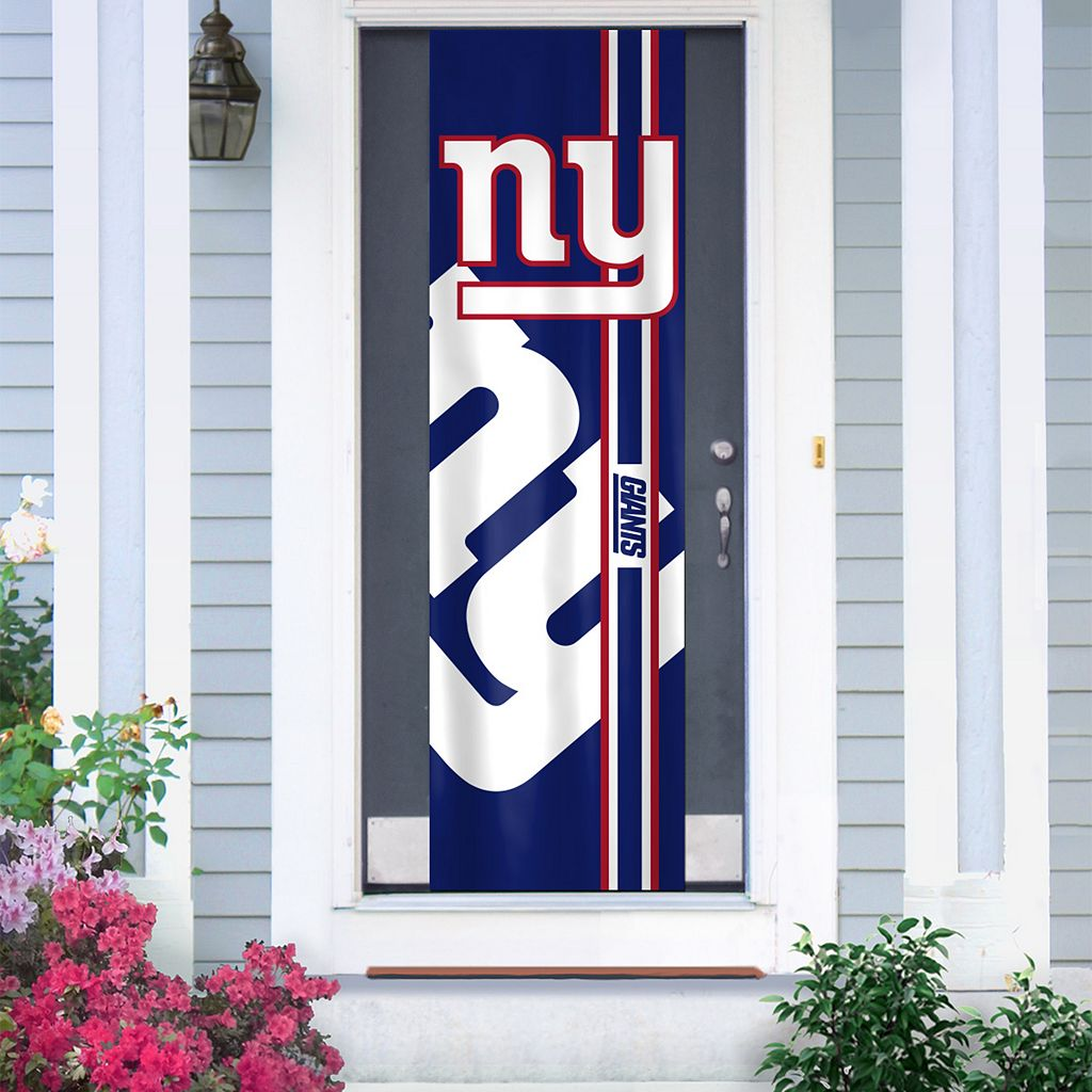 New York Giants Two-Sided Door Wrap