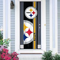 Pittsburgh Steelers Two-Sided Door Wrap