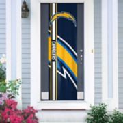 Los Angeles Chargers Two-Sided Door Wrap