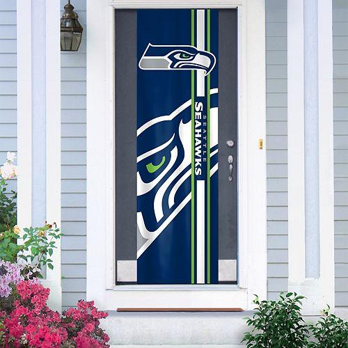 Seattle Seahawks Two-Sided Door Wrap