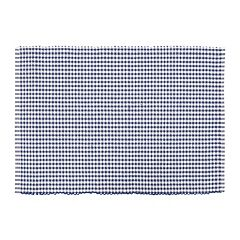 KAF HOME 4 pc Woven Gingham Placemat Set