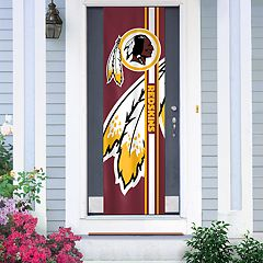 Washington Redskins Two-Sided Door Wrap