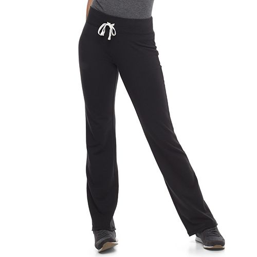 Juniors' SO® Drawstring Flare Loungepants