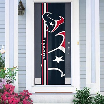 Houston Texans Two-Sided Door Wrap