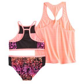 Girls 7-14 ZeroXposur 3-pc. Bikini Set