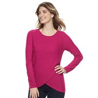 Women's Croft & Barrow® Tulip Hem Sweater