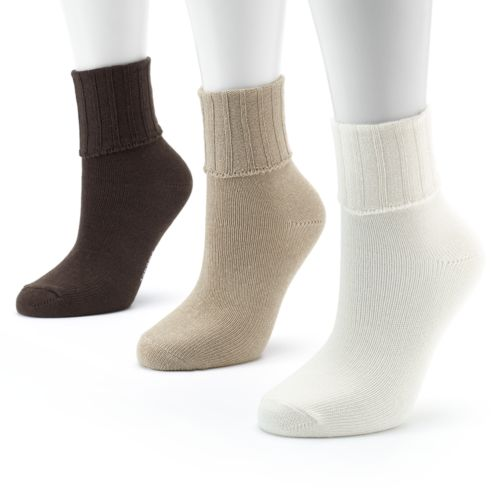 SONOMA life + style® 3-pk. Ribbed Socks