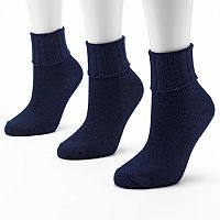 SONOMA Goods for Life™ 3-pk. Ribbed Socks