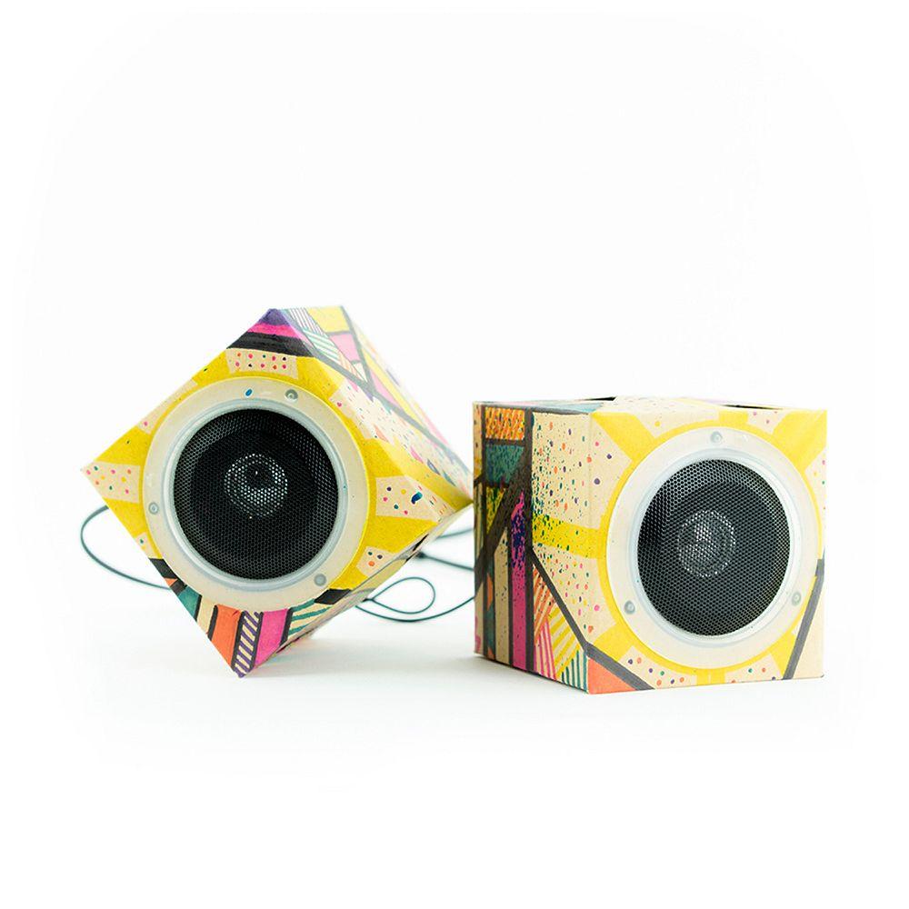 Seedling Design Out Loud Cardboard Speakers
