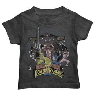 Toddler Boy Mighty Morphin Power Rangers Graphic Tee