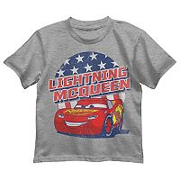 Disney / Pixar Cars Toddler Boy Lightning McQueen Patriotic Graphic Tee