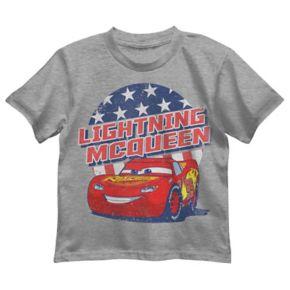 Disney / Pixar Cars Toddler Boy Lightning McQueen Patriotic Graphic Tee