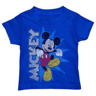 """Disney's Mickey Mouse Toddler Boy Skipping """"Mickey"""" Graphic Tee"""