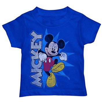 Disney's Mickey Mouse Toddler Boy Skipping
