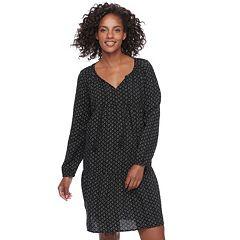Women's SONOMA Goods for Life™ Print Peasant Dress
