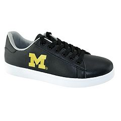 Men's Michigan Wolverines Oxford Tennis Shoes