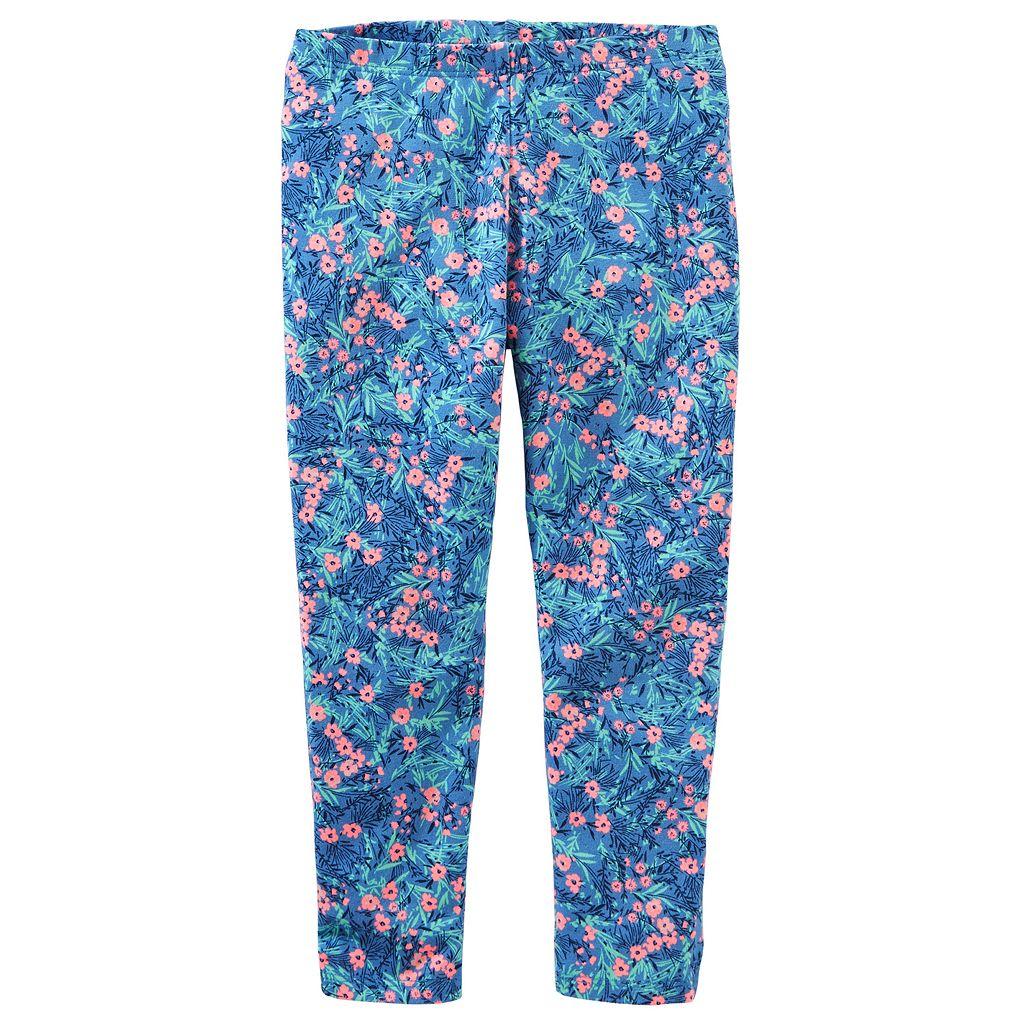Toddler Girl OshKosh B'gosh® Print Full-Length Leggings