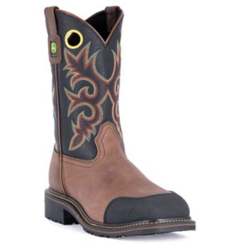 John Deere Men's Western Work Boots - JD4711