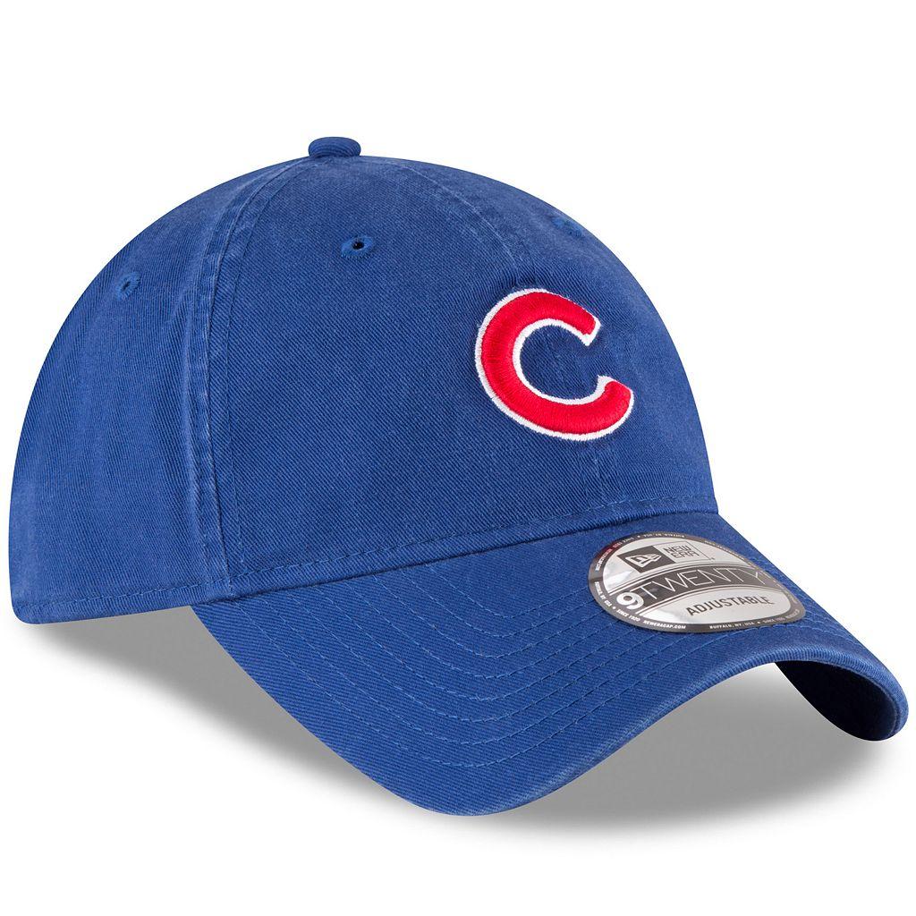 Adullt New Era Chicago Cubs 9TWENTY Core Classic Adjustable Cap