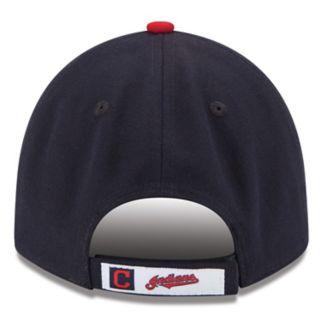 Adult New Era Cleveland Indians 9FORTYThe League Adjustable Cap