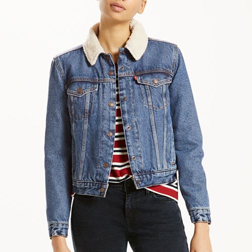 cdad3e644 Women's Levi's® Thermore Trucker Jacket