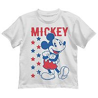 Disney's Mickey Mouse Toddler Boy Patriotic Graphic Tee