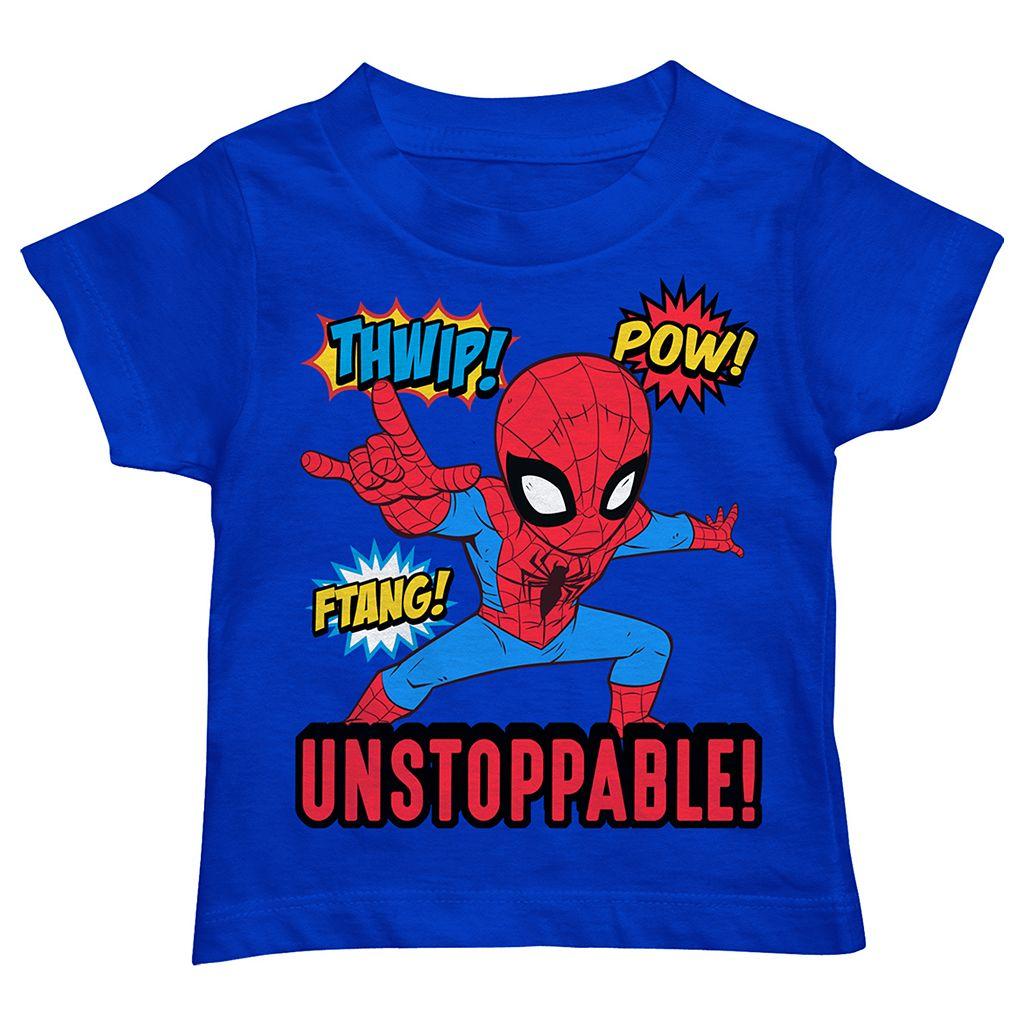 Toddler Boy Marvel Spider-Man