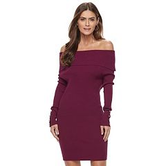 Women's Jennifer Lopez Off-The-Shoulder Dress