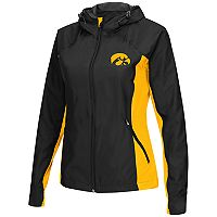Women's Campus Heritage Iowa Hawkeyes Step Out Windbreaker Jacket