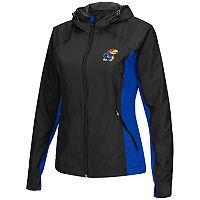 Women's Campus Heritage Kansas Jayhawks Step Out Windbreaker Jacket