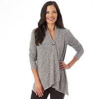 Women's Apt. 9® Button Wrap Top