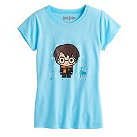 Girls 7-16 Harry Potter Patronus Graphic Tee
