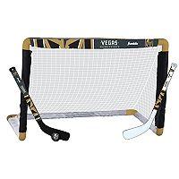 Franklin Vegas Golden Knights Mini Hockey Goal Set
