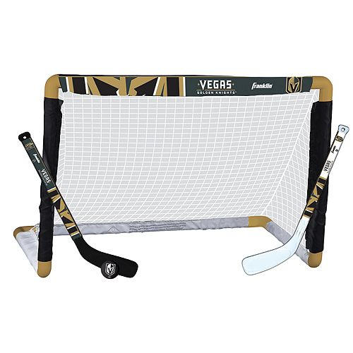 Franklin Vegas Golden Knights Mini Hockey Goal Set