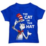 "Toddler Boy Dr. Seuss ""The Cat In The Hat"" Graphic Tee"