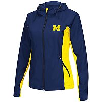 Women's Campus Heritage Michigan Wolverines Step Out Windbreaker Jacket