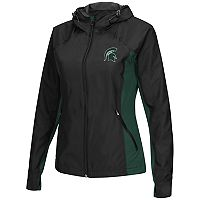 Women's Campus Heritage Michigan State Spartans Step Out Windbreaker Jacket