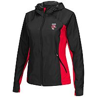 Women's Campus Heritage Wisconsin Badgers Step Out Windbreaker Jacket