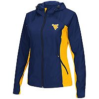 Women's Campus Heritage West Virginia Mountaineers Step Out Windbreaker Jacket