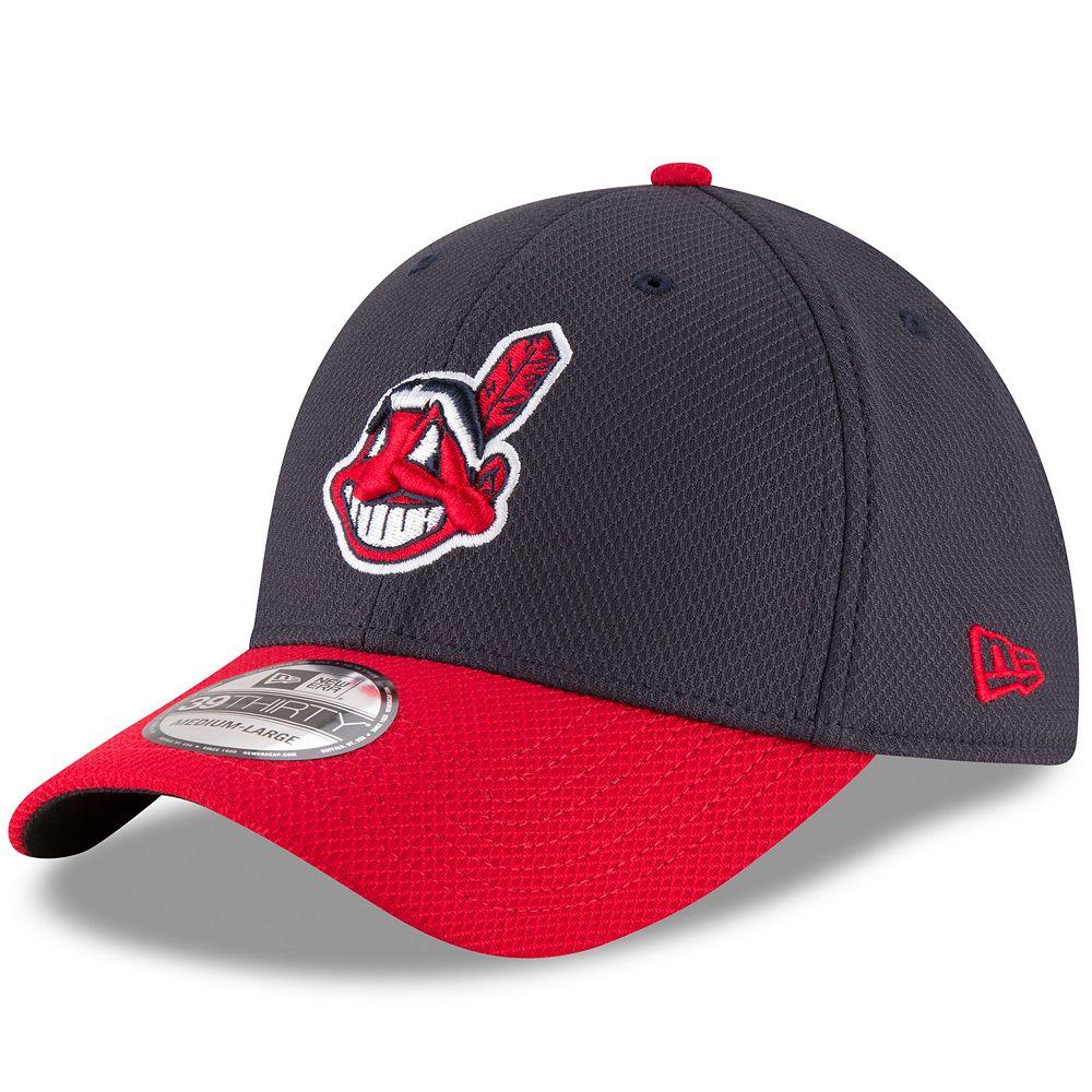 Adult New Era Cleveland Indians Diamond Era 39THIRTY Stretch-Fit Cap 868256b0f56