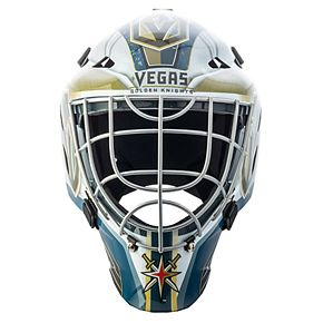 Youth Franklin Vegas Golden Knights Mini Hockey Goalie Collectible Face Mask