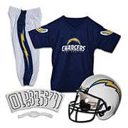 Franklin San Diego Chargers Deluxe Football Uniform Set