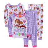 "Toddler Girl Paw Patrol 4-pc. Skye & Marshall ""Woke Up Pawsome"" Pajama Set"
