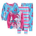 Toddler Girl DreamWorks Trolls Poppy 4-pc. Pajama Set
