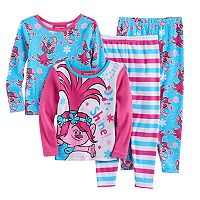 Toddler Girl DreamWorks Trolls Poppy 4-pc. Pajama Set