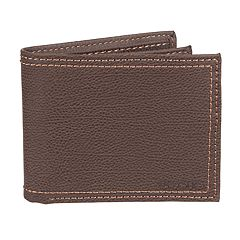 Men's Levi's RFID-Blocking Extra-Capacity Brown Slimfold Wallet