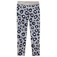 Girl's 4-8 Carter's Leopard Print Leggings