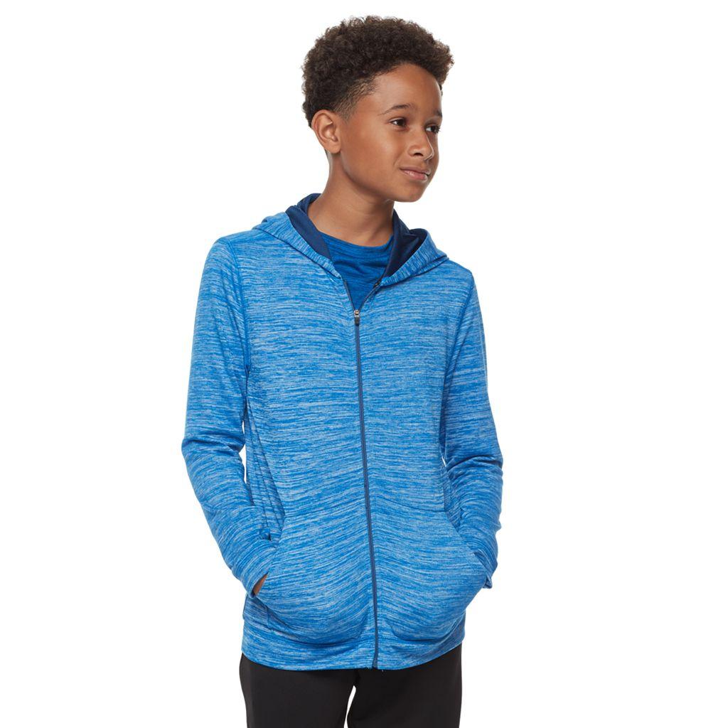 Boys 8-20 Tek Gear® Jersey Space-Dyed Hoodie